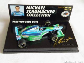 Schumacher Benetton Ford B 194 in 164 von Pauls Model Art siehe auch