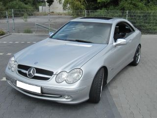Mercedes W209 CLK Grill Kühlergrill sportgrill Schwarz