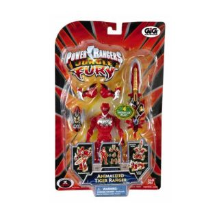 ACTION FIGURE POWER RANGERS   JUNGLE FURY TIGER RANGER