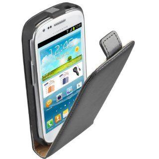 mumbi PREMIUM ECHT Leder Flip Case Samsung Galaxy S3