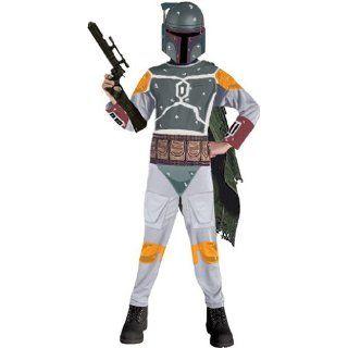 Star Wars Kostüm Boba Fett Gr. L 134 140 Spielzeug