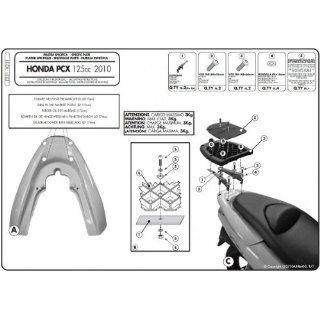 Givi Honda PCX 125 Spezial Topcasemontagekit: Auto