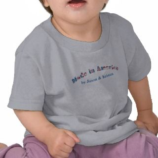 Customizable Made in America Toddler T shirt