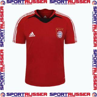 Adidas Bayern Trainings Shirt Teamline red/black