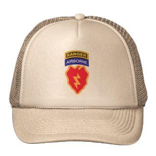 25th Infantry Division, Ranger/Airborne Tab 1 Trucker Hat