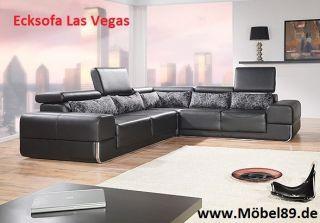 www.Möbel89.de   NEU Ecksofa Eckcouch Sofa Couch mit Bettfunktion