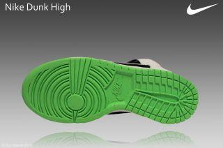 Nike Dunk High Gr.36 Schuhe Sneaker weiß/schwarz 308319 008