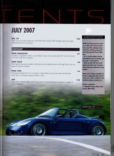 Kit Car Magazine 7/07 Marlin 5EXi R, GD Lola T70, Hallmark Cars