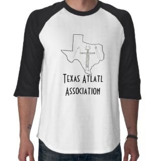 Texas Atlatl Association Offical T shirt