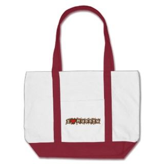 Heart Muddin Canvas Bags