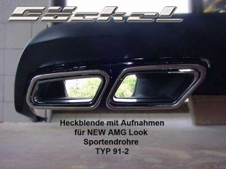 Mercedes Benz CLK 208 209 CL NEW AMG Endrohr Sportauspuff Auspuff