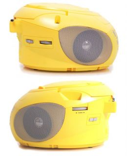 Kinder Design Boombox CD Player Radio CD Spieler CD Radio USB AUX