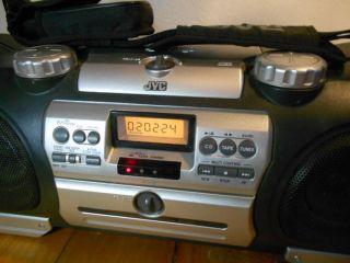 JVC Boomblaster Ghettoblaster Boombox Stereo Anlage tragbares Radio RV