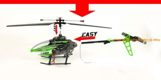 MJX F45 F645 RC Helicopter 2.4G 4CH F SERIES w/ MEMS GYRO & LCD