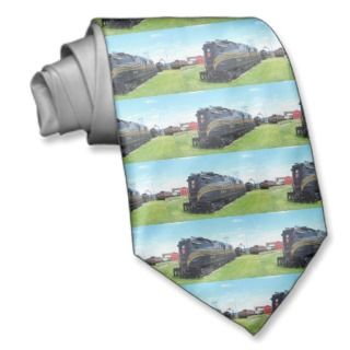 Pennsylvania Railroad Locomotive GG 1 #4800 Custom Tie