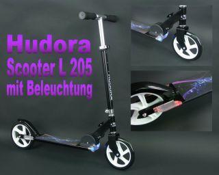 sol. Vorrat Hudora Big Wheel Hornet 205 Roller Scooter Cityroller mit