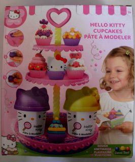 Hello Kitty Knetset Muffin & Cake Modeliermasse Knete Knetmasse NEU