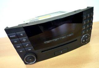 Mercedes Benz Bediengerät Audio 20 CD Player W211 E Klasse
