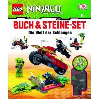 LEGO Ninjago Buch & Steine Set, m. Steine Set (147 LEGO Elemente u. 2