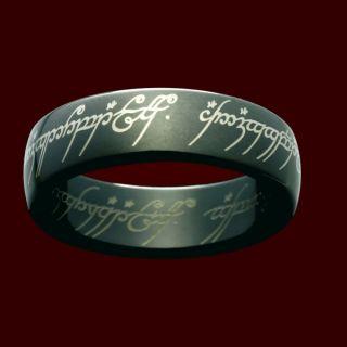 Der Eine Ring   Titan Blackline aus dem Herr der Ringe