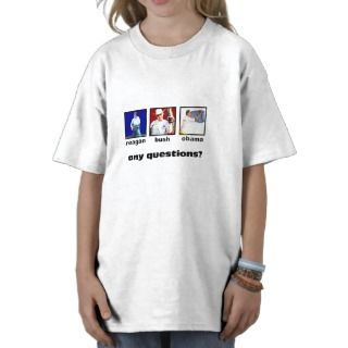 Ronald Reagan George Bush Barack Obama Shirt