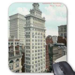 Gillender Skyscraper, New York City c1905 Vintage Mouse Pad