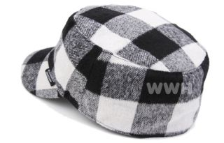 Checker Fashion Army Mütze Trucker Cap Hüte Hut Cadet Mützen cd5397