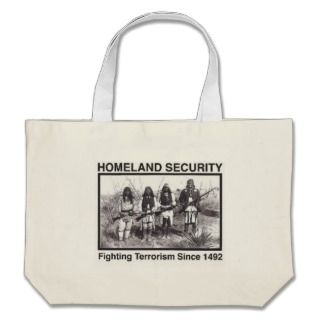 Native American Indian Homeland Security Bags