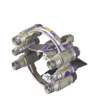 Star Wars Titanium Mace Windus Jedi Starfighter with Hyperspace Ring