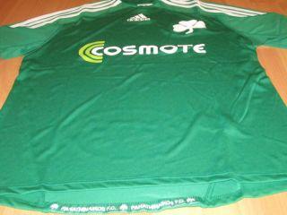 Adidas Panathinaikos Athen Pao Trikot Jersey Maillot Maglia Camiseta M