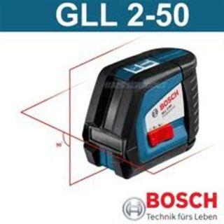 Bosch GLL 2 50 Kreuzlinienlaser Linienlaser Baulaser Laser Kreuzlaser