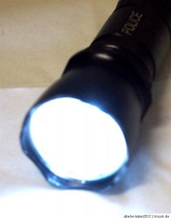 20 Watt CREE  SMD LED Taschenlampe / metallic schwarz