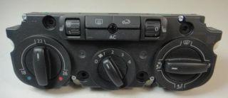 VW GOLF PASSAT AIR CON CONTROL PANEL 1K0 820 047 FJ WHS