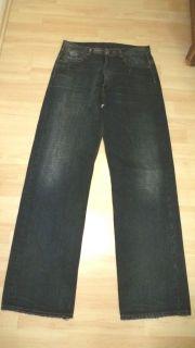 adidas Yohji Yamamoto JEANS 32/34 schwarz grau i241