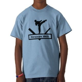 Karate Belt Boys T Shirt