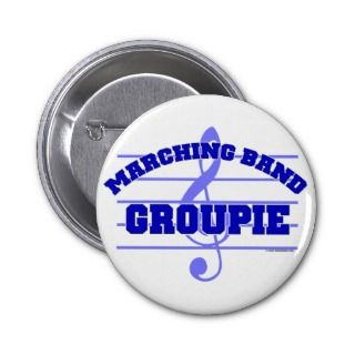 Marching Band Groupie Pins