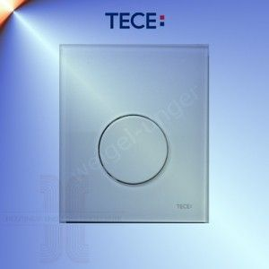TECEloop Urinal GLAS Betätigungsplatte 9.242.650 weiss