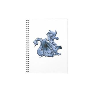 Blue Dragon Notebook