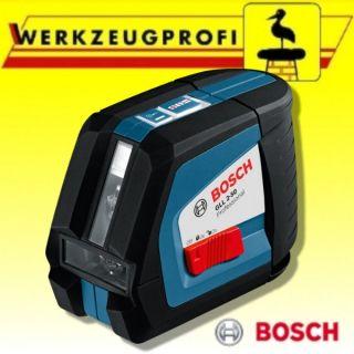Bosch Linienlaser GLL 2 50 Professional Kreuz Linienlaser