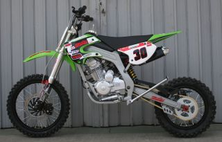 CENKOO XB 30 Enduro Cross Dirt Bike 250CC 4Takt GRÜN