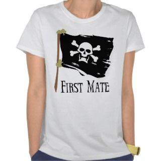 Jolly Roger First Mate Tee Shirts