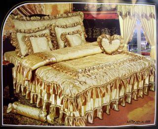Komfortline 15 tlg. Tagesdecke Bettüberwurf Gardinen Vorhang