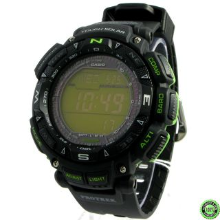 Men PROTREK Pathfinder Solar Watch PO +Box PRG240 PRG 240 1B