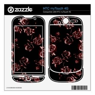 Rose Tattoo Skin For HTC myTouch 4G