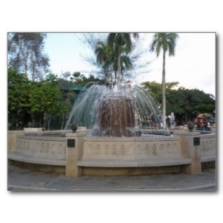 Source Place of Caguas Postcard