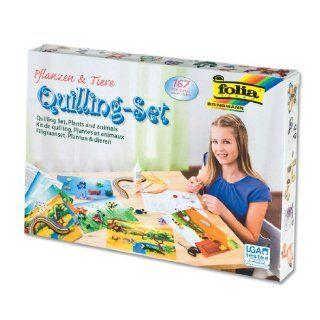 Quilling Set Tiere & Pflanzen, 167 teilig Spielzeug