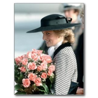 No.270 Princess Diana Germany 1987 Post Cards