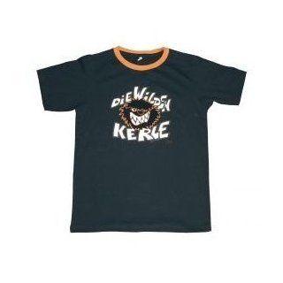 KERLE   LOGO T Shirt schwarz  Wilde Größe 176 Spielzeug