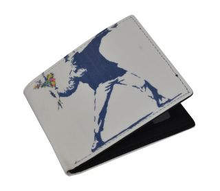 NEW ** Banksy ** Graffiti Art Artist Mens/Womens Wallet
