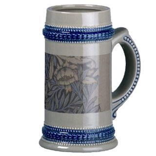 Tulip and Willow design Stein Mugs